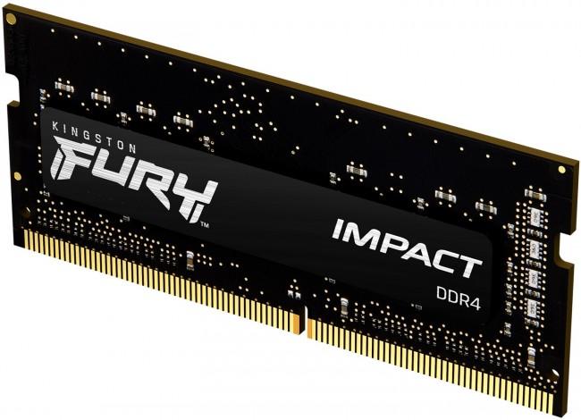 Kingston Fury Impact 8GB [1x8GB 2666MHz DDR4 CL15 SODIMM] - zdjęcie główne