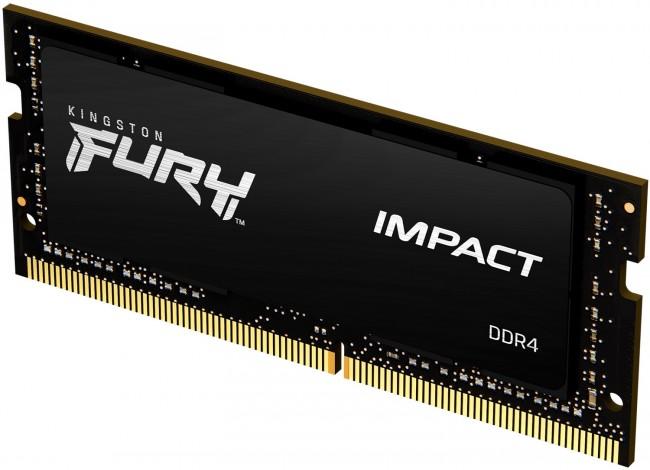 Kingston Fury Impact 16GB [1x16GB 3200MHz DDR4 CL20 SODIMM] - zdjęcie główne