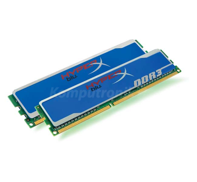 Kingston HyperX DDR3 2X 4GB 1600MHz XMP CL9 Blu