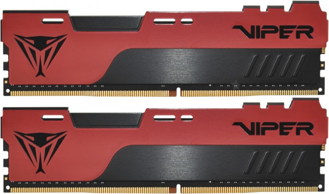 Patriot Viper Elite II Red 32GB [2x16GB 3600MHz DDR4 CL20 1.2V DIMM] - zdjęcie główne