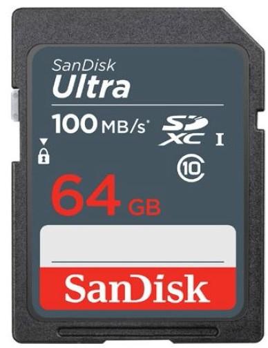 SanDisk Ultra SDXC 64GB 100 MB/s UHS-I Class 10 - zdjęcie główne