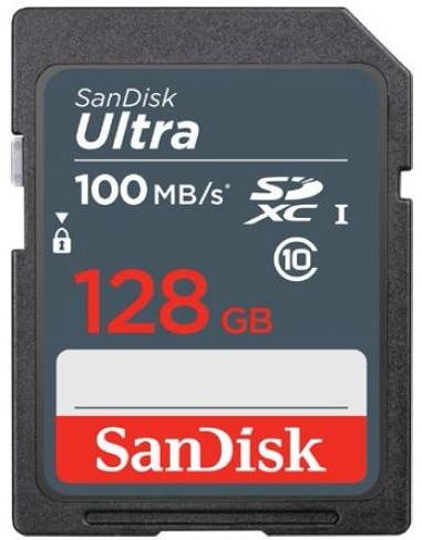 SanDisk Ultra SDXC 128GB 100 MB/s UHS-I Class 10 - zdjęcie główne