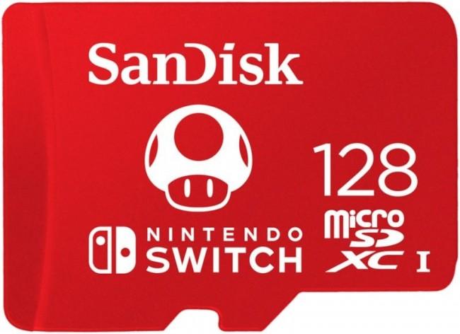 SanDisk Ultra microSDXC 128GB Nintendo Switch 100/90 MB/s A1 UHS-I - zdjęcie główne