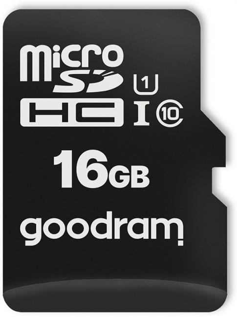 GOODRAM 16GB microSD class 10 UHS I - zdjęcie główne