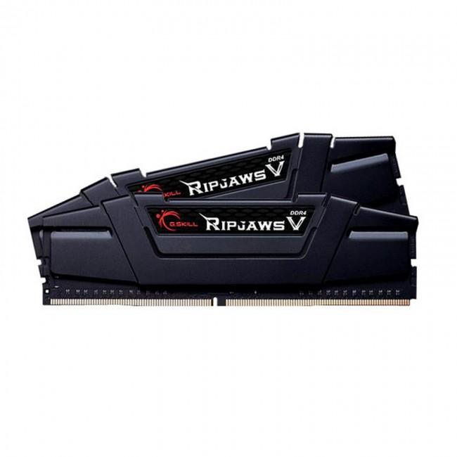 G.SKILL RipjawsV 8GB Black [2x4GB 3200MHz DDR4 CL16 Skylake DIMM] - zdjęcie główne