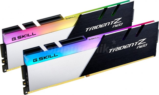 G.SKILL Trident Z Neo 32GB [2x16GB 3200MHz DDR4 CL16 1.35V XMP 2.0 DIMM] - zdjęcie główne