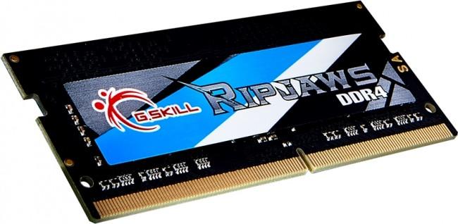 G.SKILL Ripjaws 8GB [1x8GB 3200MHz DDR4 CL18 1.2V SODIMM] - zdjęcie główne