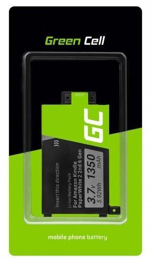 Green Cell E-book Amazon Kindle Paperwhite II, III 1350mAh - zdjęcie główne