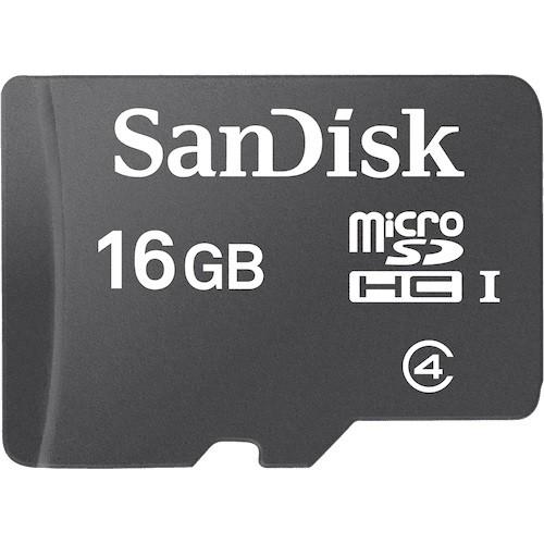 SanDisk microSDHC 16GB + Adapter SD - zdjęcie główne