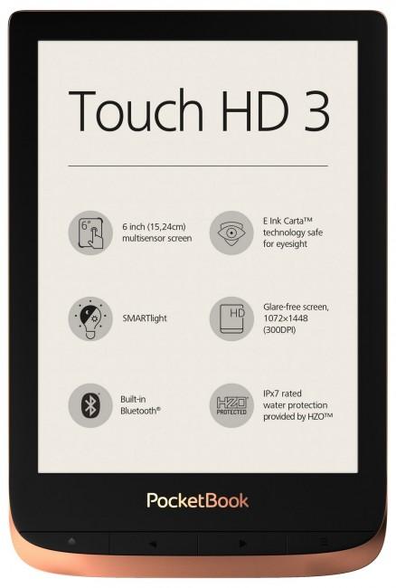 PocketBook Touch HD 3 Spicy Copper - zdjęcie główne