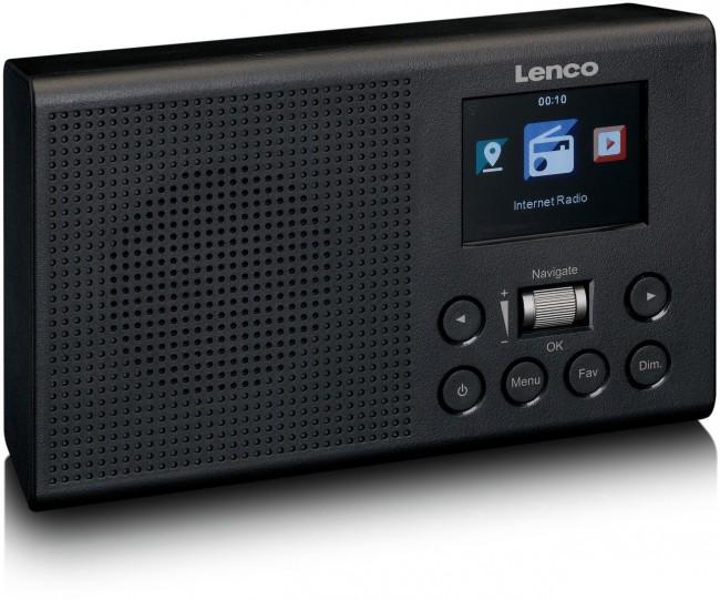 Lenco Radio internetowe DIR-60BK Czarny - zdjęcie główne