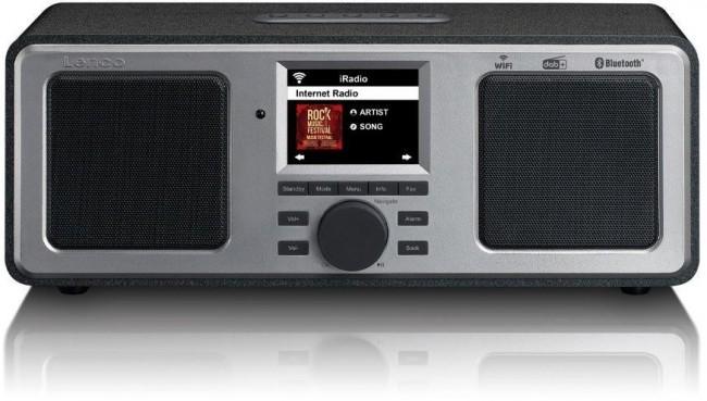 Lenco Radio internetowe DIR-165BK Czarny - zdjęcie główne