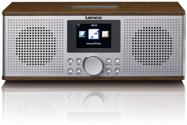 Lenco Radio internetowe DIR-170WA Brązowy - zdjęcie główne