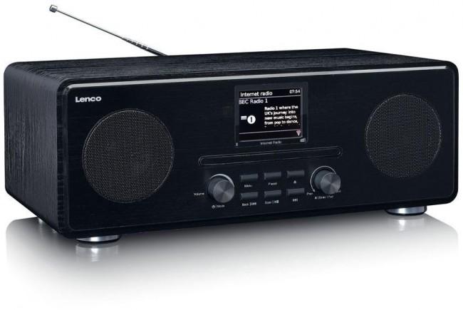 Lenco Radio internetowe DIR-260BK Czarny - zdjęcie główne