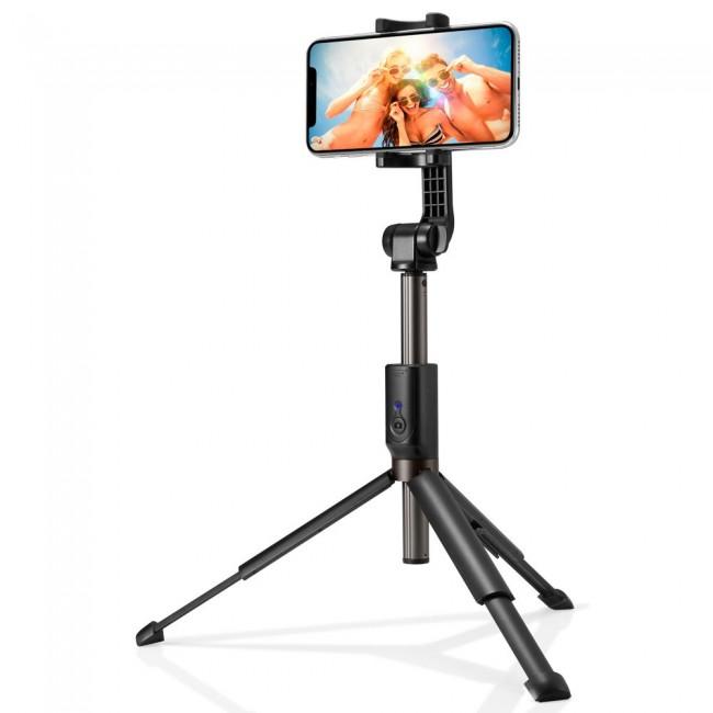Spigen Wireless Selfie Stick Tripod S540W czarny - zdjęcie główne