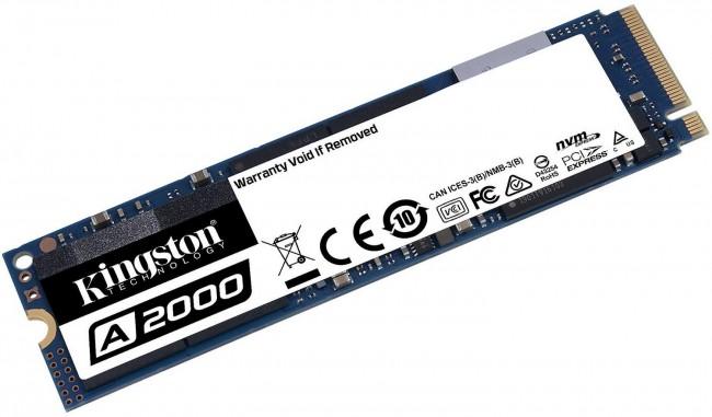 Kingston A2000 M.2 Pci-e NVMe 500GB - zdjęcie główne