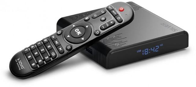 Savio Smart TV Box Silver TB-S01 - zdjęcie główne