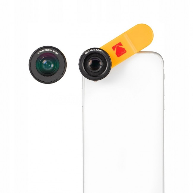 Kodak Lens Kit 2w1 MAKRO + WIDE 18mm zestaw obiektywów do smartfona - zdjęcie główne