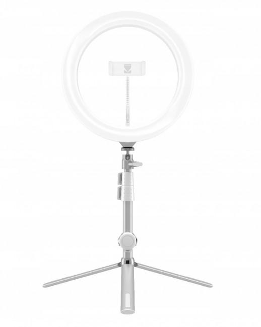 Kodak LED Ring Light Selphie 10'' RL001 + Statyw Srebrny - zdjęcie główne