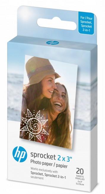"""HP Sprocket Zink Paper 2x3"""" - 20 szt. - zdjęcie główne"""