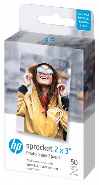 """HP Sprocket Zink Paper 2x3"""" - 50 szt. - zdjęcie główne"""
