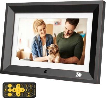 """Kodak LED HD 10"""" RDPF-1020W drewniana czarna - zdjęcie główne"""