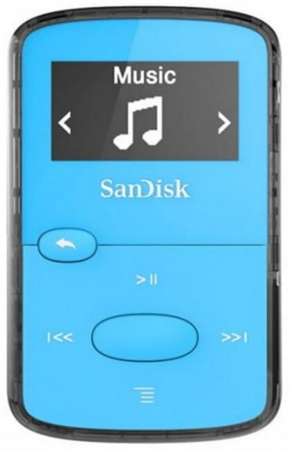 SanDisk Sansa Clip Jam 8GB niebieska - zdjęcie główne