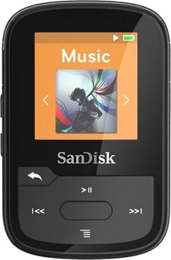 SanDisk Sansa Clip Sport Plus 16GB czarna - zdjęcie główne