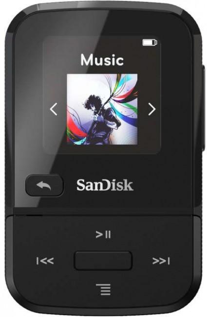SanDisk Sansa Clip Sport Go 16GB Czarny - zdjęcie główne
