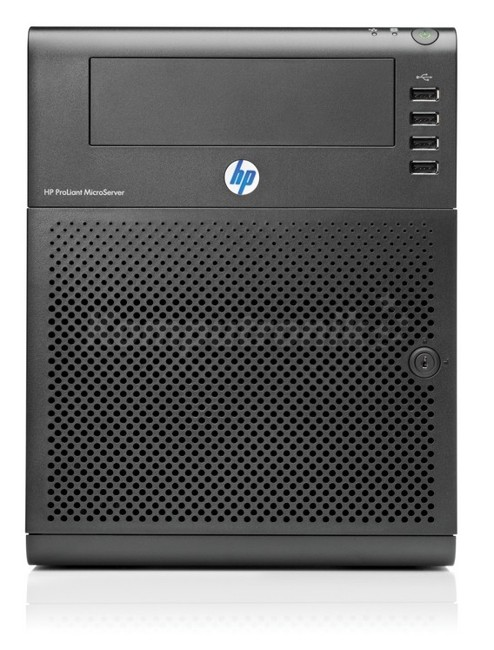 hp proliant microserver g7 n54l 2 2ghz 2 core 1p 4gb u non hot plug sata 150w ps eu server. Black Bedroom Furniture Sets. Home Design Ideas