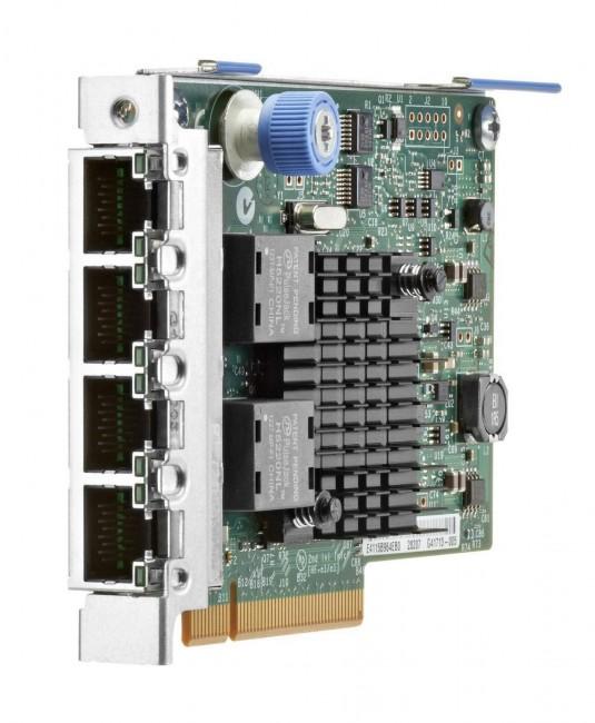 HPE Ethernet 1Gb 4-port FLR-T I350-T4V2 Adapter - zdjęcie główne