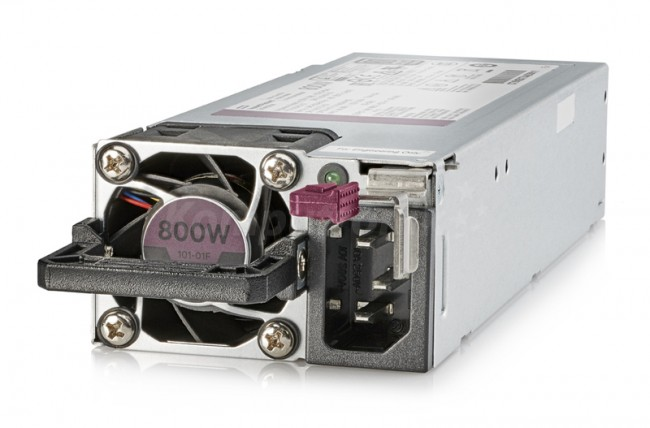 HPE 800W Flex Slot Platinum Hot Plug Low Halogen Power Supply Kit - zdjęcie główne