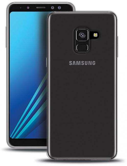 Puro 0.3 Nude Samsung Galaxy A6+ 2018 cover - Cover & etui