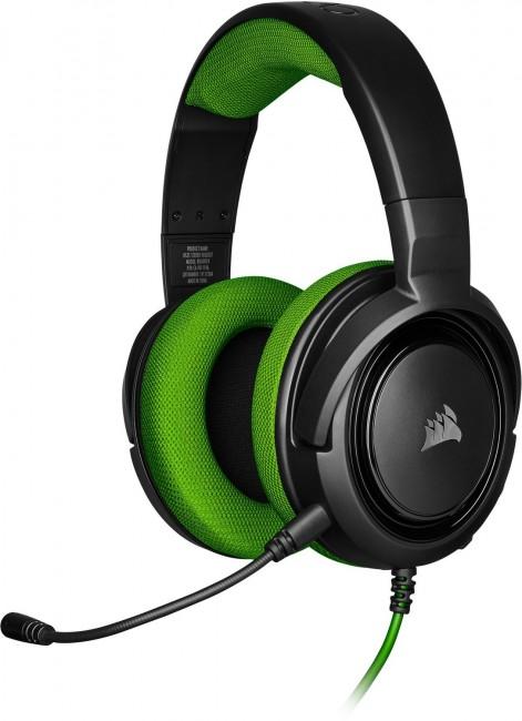 Corsair HS35 Stereo Green - zdjęcie główne