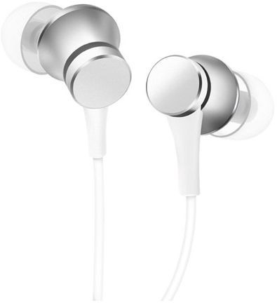 Xiaomi Mi In-Ear Headphones Basic Srebrne - zdjęcie główne