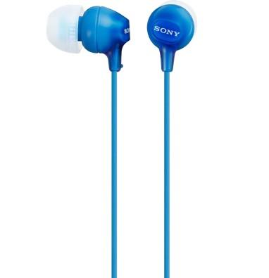 Sony MDR-EX15AP Niebieska - zdjęcie główne