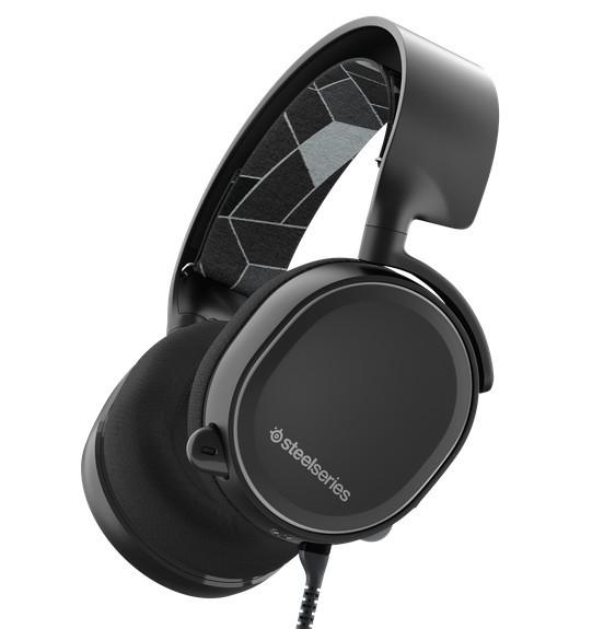 SteelSeries Arctis 3 Czarne - zdjęcie główne