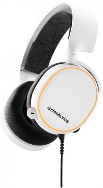 SteelSeries Arctis 5 Białe - zdjęcie główne