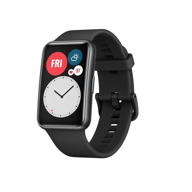 Huawei Watch Fit czarny - zdjęcie główne