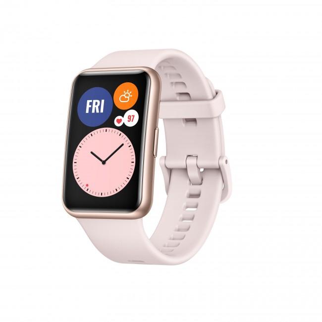 Huawei Watch Fit różowy - zdjęcie główne