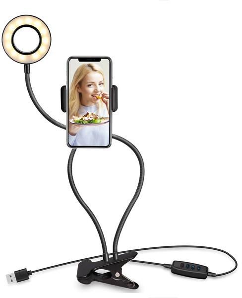 Somostel lampa biurkowa uchwyt selfie - zdjęcie główne