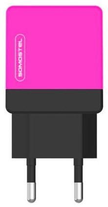 Somostel 2.1A różowo-czarna kabel USB-C - zdjęcie główne