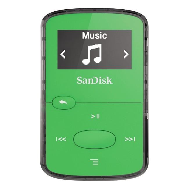 SanDisk Sansa Clip Jam 8GB zielona - zdjęcie główne