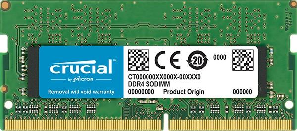 Crucial 8GB [1x8GB 2666MHZ DDR4 CL19 SODIMM] - zdjęcie główne