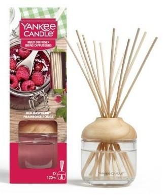 Yankee Candle Red Raspberry pałeczki zapachowe 120 ml - zdjęcie główne