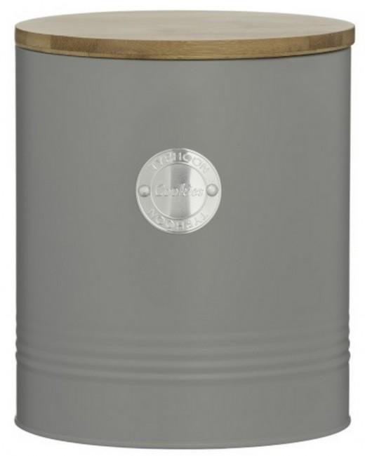 Typhoon Living pojemnik na herbatniki szary 1400.735 - zdjęcie główne