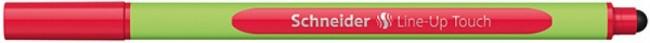 Schneider Line-Up Touch czerwony - zdjęcie główne