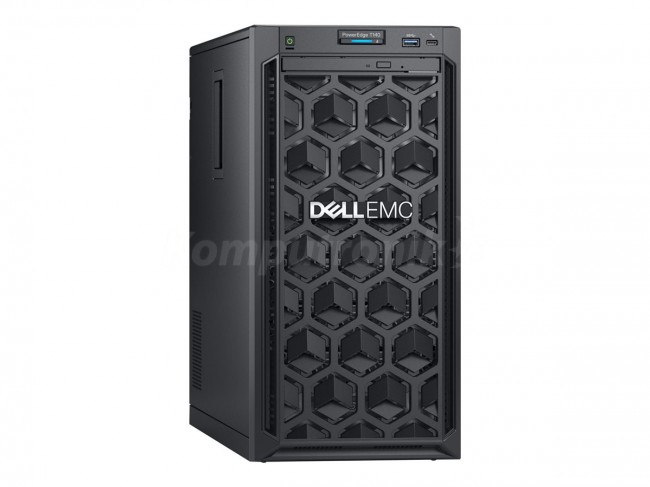 DELL PE T140 Intel Xeon E2224 Chassis 4 x 3.5in 16GBub 1x1TB cabled DVD RW iDRAC9 Bas 3y NBD - zdjęcie główne