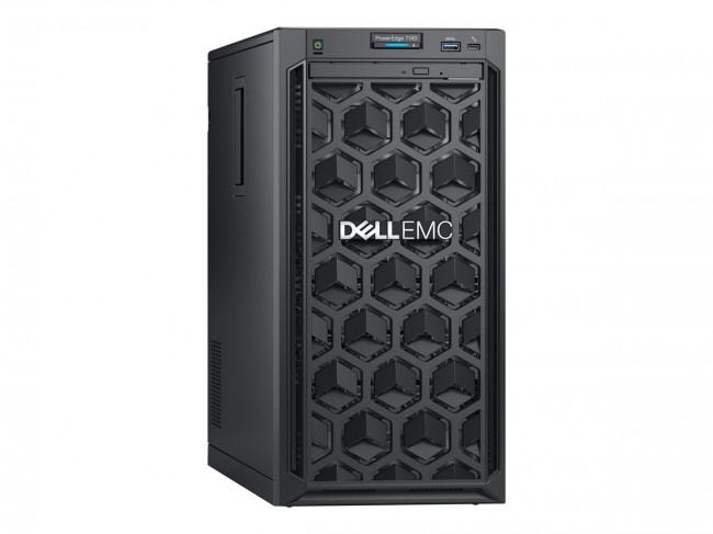DELL PE T140 Intel Xeon E-2224 Chassis 4 x 3.5in cabled 16GBub 1x1TB H330 DVD RW iDRAC9 Bas 3y NBD - zdjęcie główne