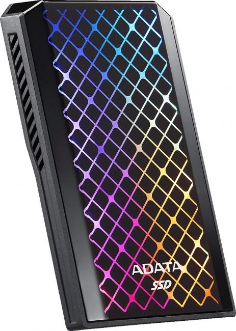 Adata SE900 2TB SSD czarny RGB - zdjęcie główne